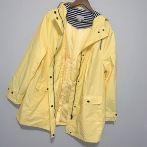 Appleseeds yellow rain jacket- size XL